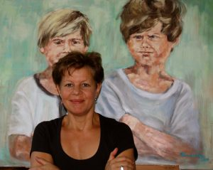 Christiane Bernreuther vor Two Boys