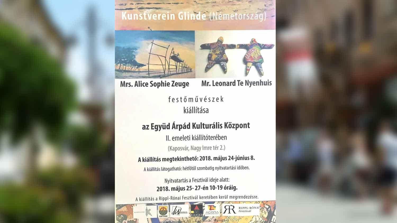 Einladung Zur Kunstvereins-Ausstellung