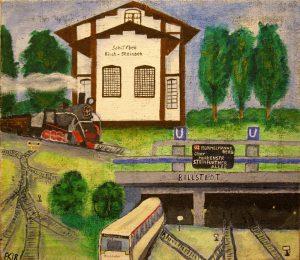 WIR Andrea Kruse, alter Bahnhof und U Bahn