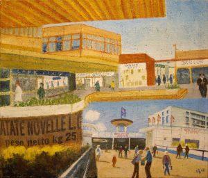 WIR Nelly Below, altes und neues Einkaufszentrum