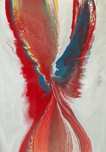 Margit Buß,-.-WN 142,2016,Acryllack_Leinwand,140x100cm -1