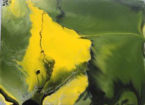 Margit Buß, WN 396,2020, Acryllack_Resin Leinwand,18x24 cm Kopie-1